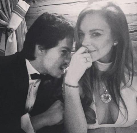 Lindsay Lohan, Igor Tarabasov Pic