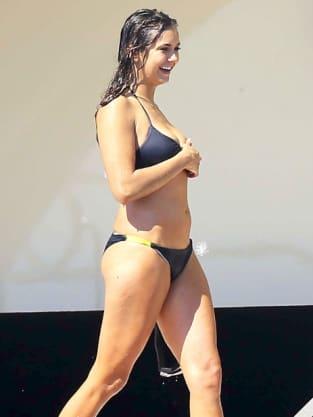 Nina Dobrev Bikini Photograph