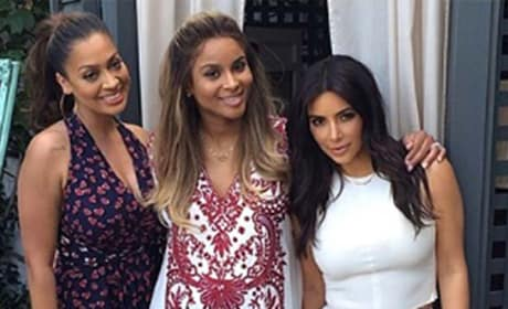 Kim Kardashian, Ciara and LaLa