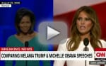Michelle Obama & Melania Trump Speech Comparison