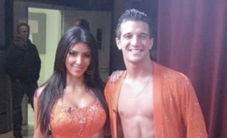 Backstage at DWTS