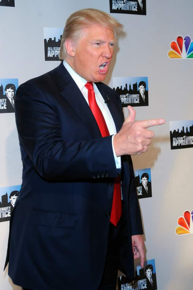 Donald Trump Red Carpet Pic