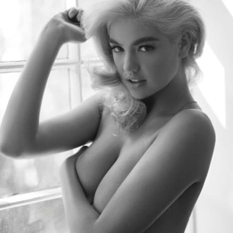 Kate Upton Topless Instagram Pic