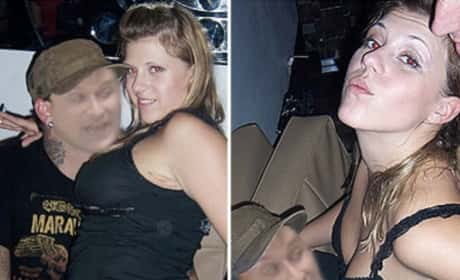 Jodie Sweetin partying