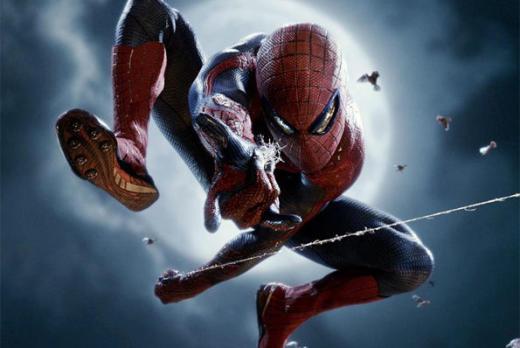 It's Spider-Man!