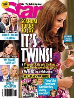 Kate Middleton Pregnant Star Magazine Cover
