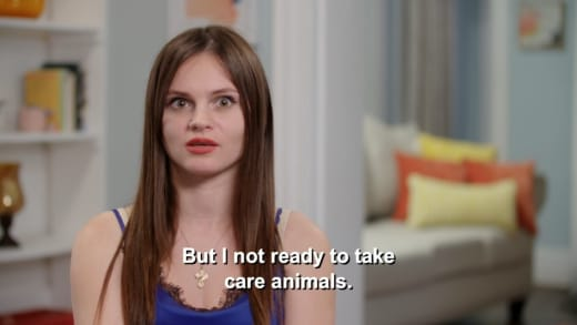 Julia Trubkina - I'm not ready to take care of animals