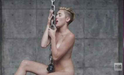 "Miley Cyrus on ""Wrecking Ball"" Video, VMA Antics: Naughtier Things Still to Come!"