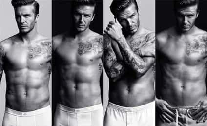 David Beckham Underwear Pics: The Whole Package