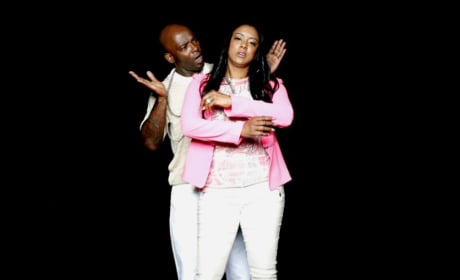 Treach and Cicely Evans