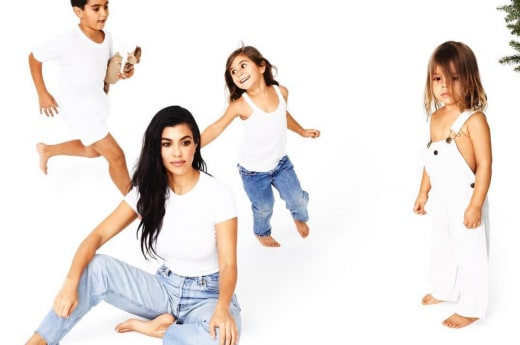 Kourtney with Kids