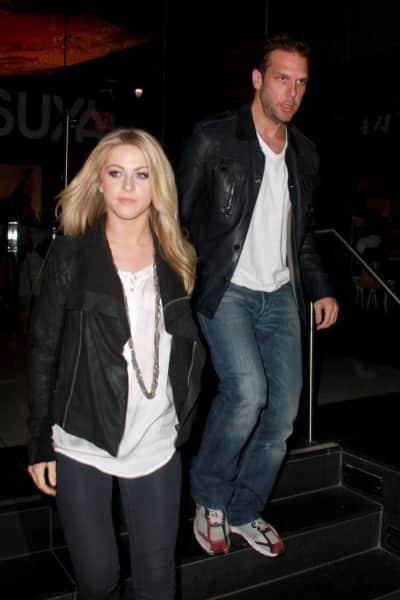 Dane Cook and Julianne Hough