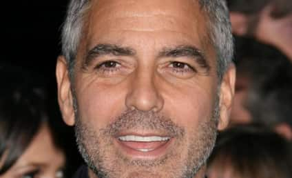 George Clooney Fights Off Malaria