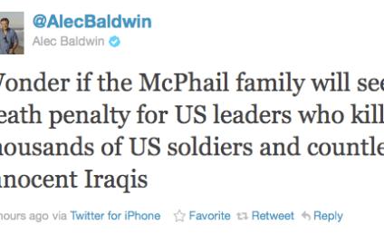 Alec Baldwin Decries Troy Davis Execution, Lays Into Michelle Malkin