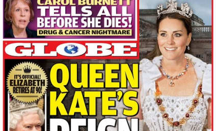 Kate Middleton: Queen Hands Over Crown To Pregnant Duchess?!