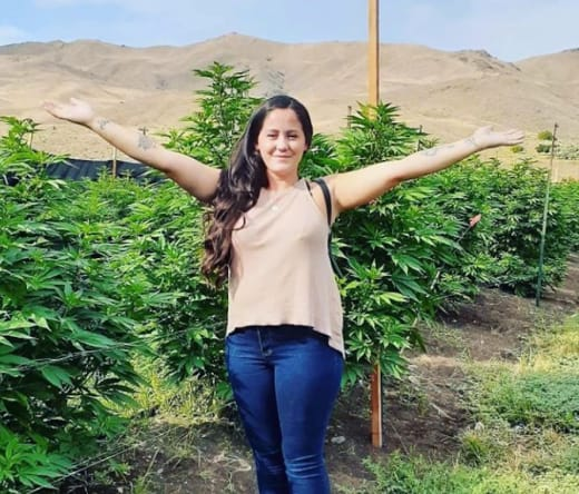 Jenelle at Farm Herbs