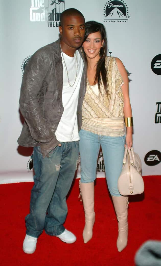 Kim Kardashian and Ray J Picture