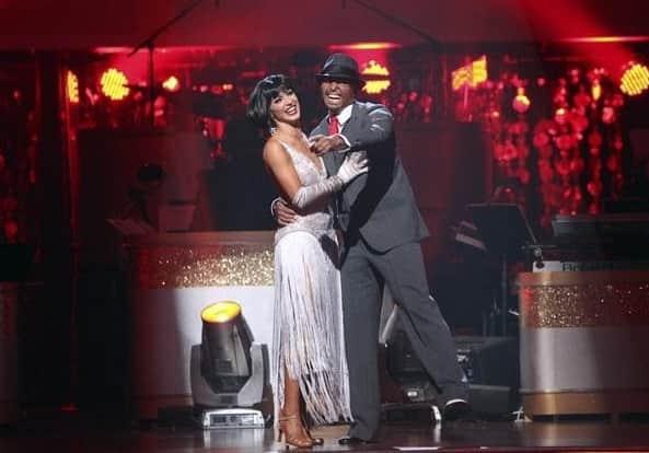 Karina Smirnoff and JR Martinez