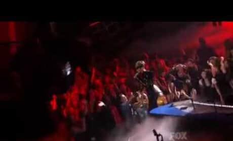 Rihanna on Idol