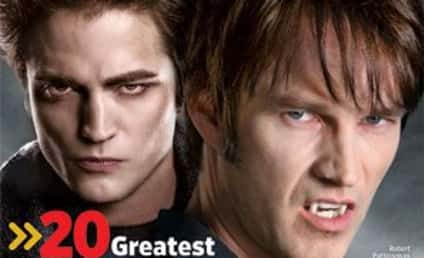 Entertainment News Magazine Pits Robert Pattinson Against Stephen Moyer