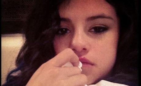 Selena Gomez Sick Photo
