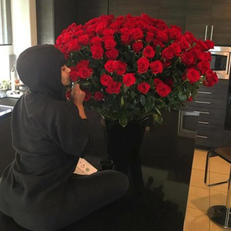 Blac Chyna on Valentine's Day