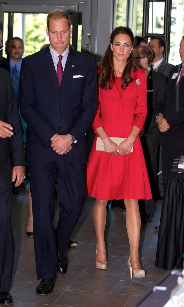 Kate, William in Canada