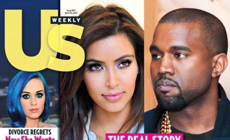 Kim Kardashian and Kanye West in Love!