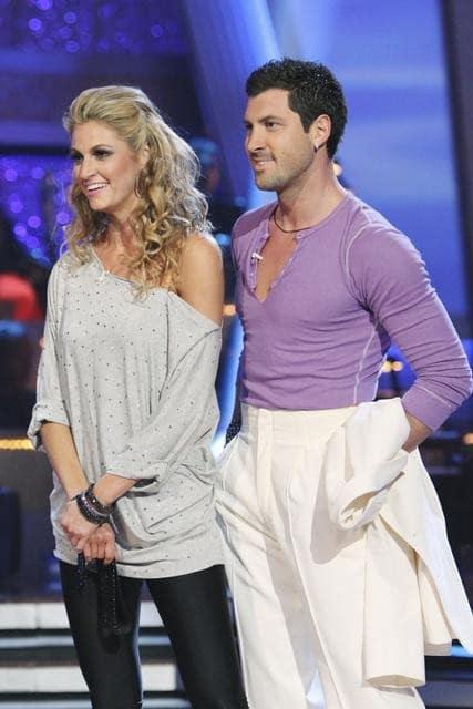 Maksim and Erin Andrews