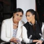 Rachel Roy and Kim Kardashian, Speaking