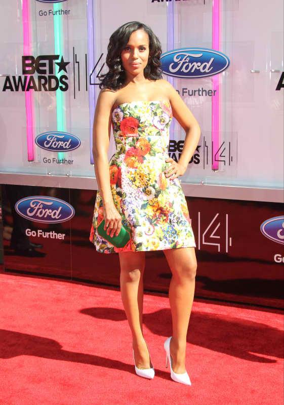 Kerry Washington BET Awards Photo