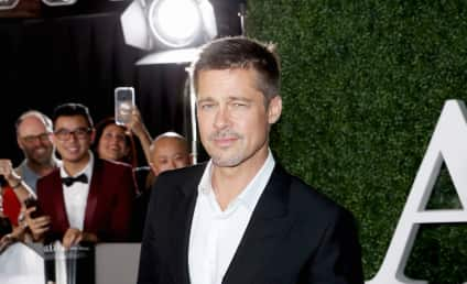 Brad Pitt: Cleared of Child Abuse, Handsome on the Red Carpet
