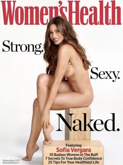 Sofia Vergara Women's Health Cover