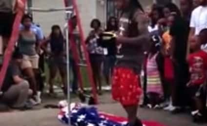 Lil Wayne: American Flag Trampling Was an Accident! I Didn't See It!