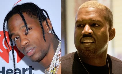 Travis Scott Turns to Kanye For Advice on Handling Crazy Kylie Jenner, Pregnancy