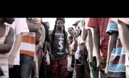 "Lil Wayne ""God Bless Amerika"" Video: No Flag Trampling Here!"