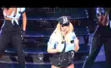 Crazy Britney Spears Fan Rushes the Stage