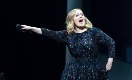 """Adele Does Not """"Give A Sh*t"""" About Brad Pitt & Angelina Jolie!"""