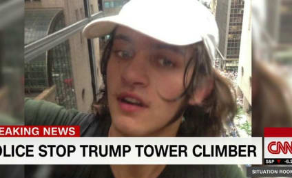 Man Who Scaled Trump Tower with Suction Cups Sends Strange Message