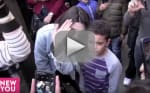 Kendall Jenner, Hailey Baldwin Console Boy Who Got Knocked Down by Paparazzi: WATCH