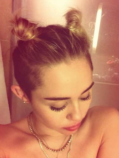 Miley Cyrus in the Shower