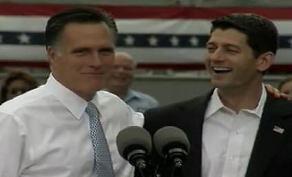 "Mitt Romney Introduces Paul Ryan as ""The Next President of the United States"""