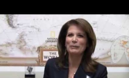 """Michele Bachmann Raps Macklemore's """"Thrift Shop"""" in Hilarious Video! Watch Now!"""