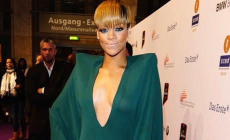 Rihanna Bat Dress