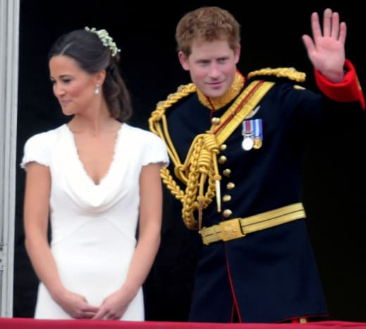 Prince Harry and Pippa Middleton Photo