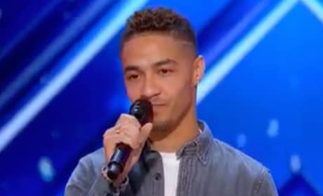 Brandon Rogers on America's Got Talent