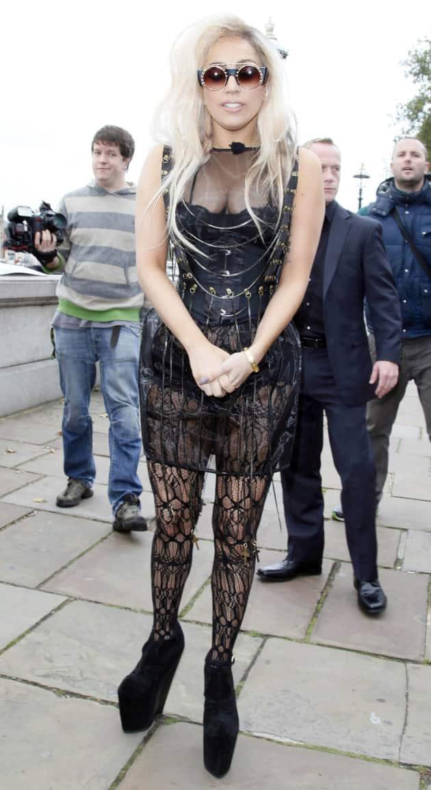 Gaga in London