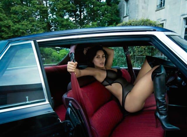Sexiness Rides Shotgun