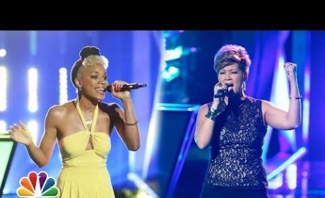 Ashley DuBose vs. Tessanne Chin - The Voice Knockout