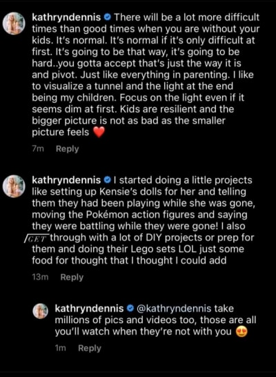 """Kathryn Dennis IG on new """"normal"""" without custody"""